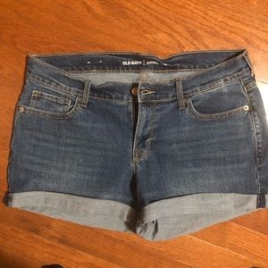 NWOT DENIM SHORTS